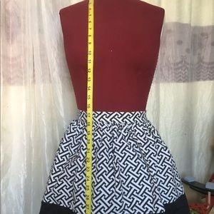 Handmade Canvas Skirt